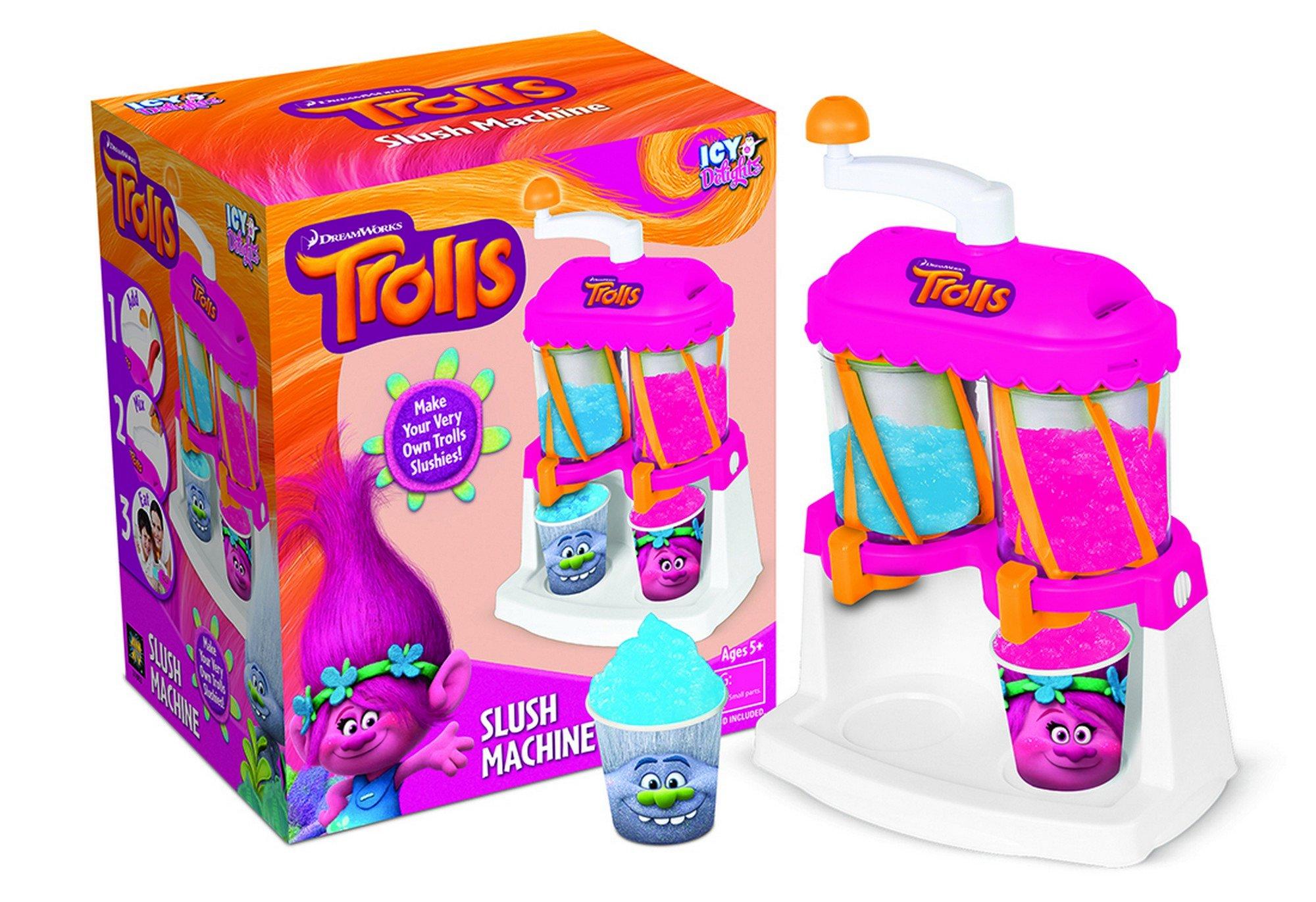 Universal AMAV Toys Trolls Slush Machine DIY Make Your Own Slush Fun Kit for Children by Universal