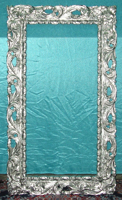 Stunning specchio foglia argento pictures for Cornici in polistirolo per quadri