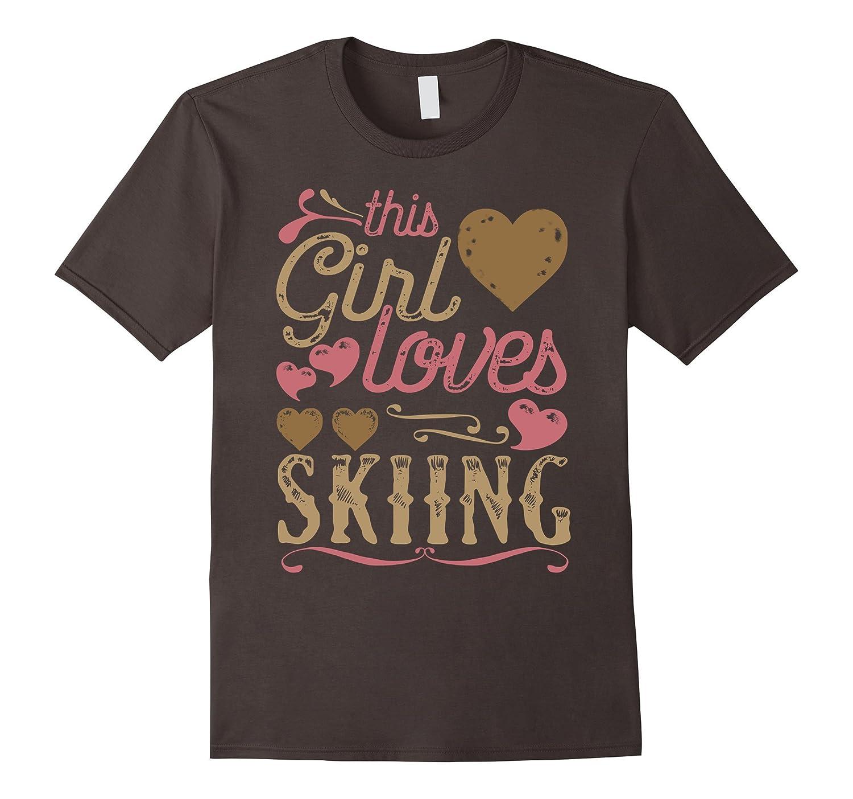 Skiing Shirt – Skiing Tshirt Gift Skiing Tee Ski Snow