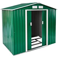 TecTake Cobertizo caseta de jardín metálica de Metal