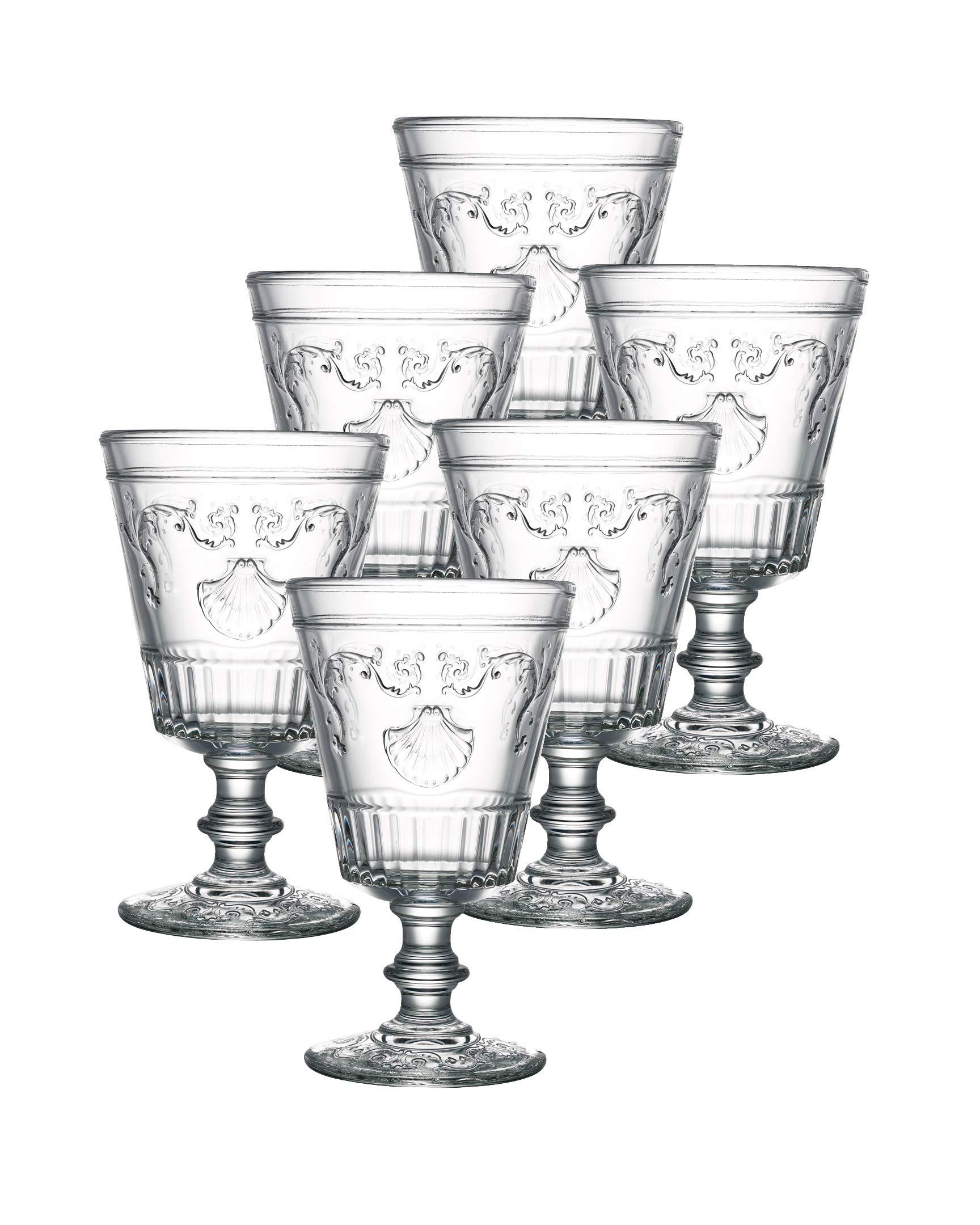La Rochere Set Of 6, 14-ounce Versailles Tasting Glasses