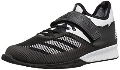 adidas Performance Men's Shoes | Crazy Power Cross-Trainer,  Black/White/Black