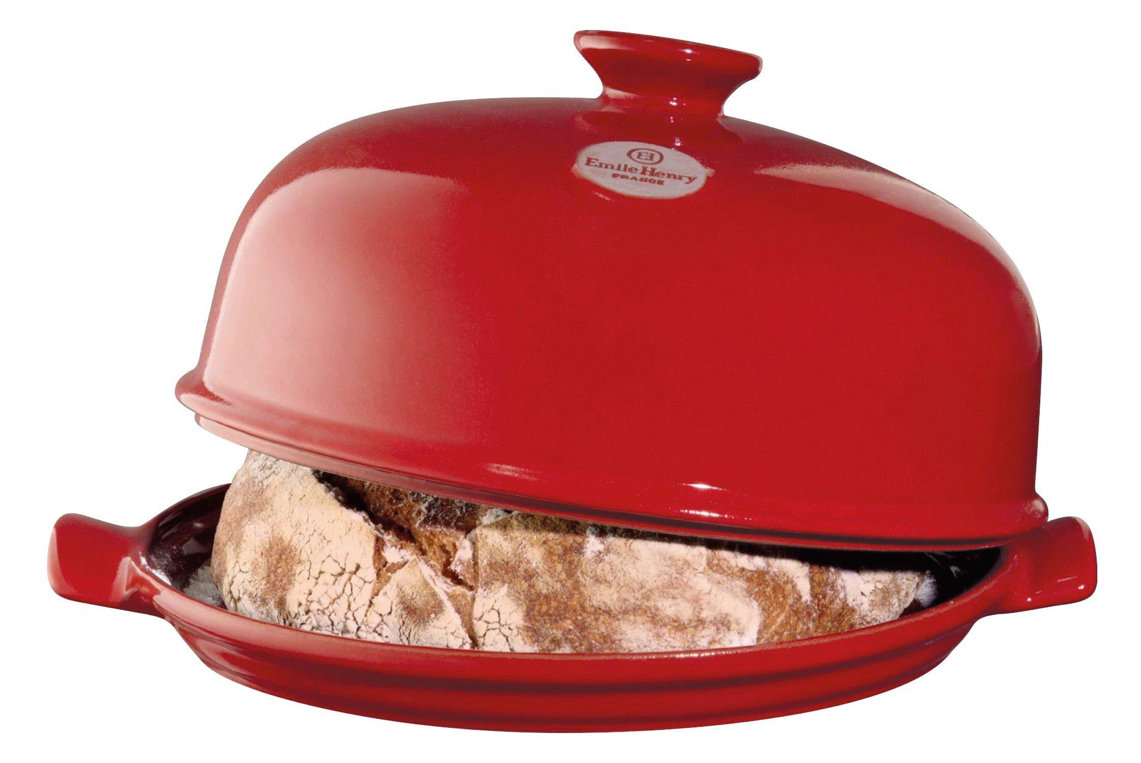 Emile Henry - Bread Baking Set - Red