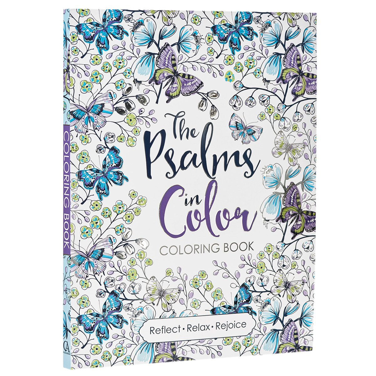amazoncom the psalms in color inspirational adult coloring book 9781432115968 christian art publishers books - Color Books For Adults