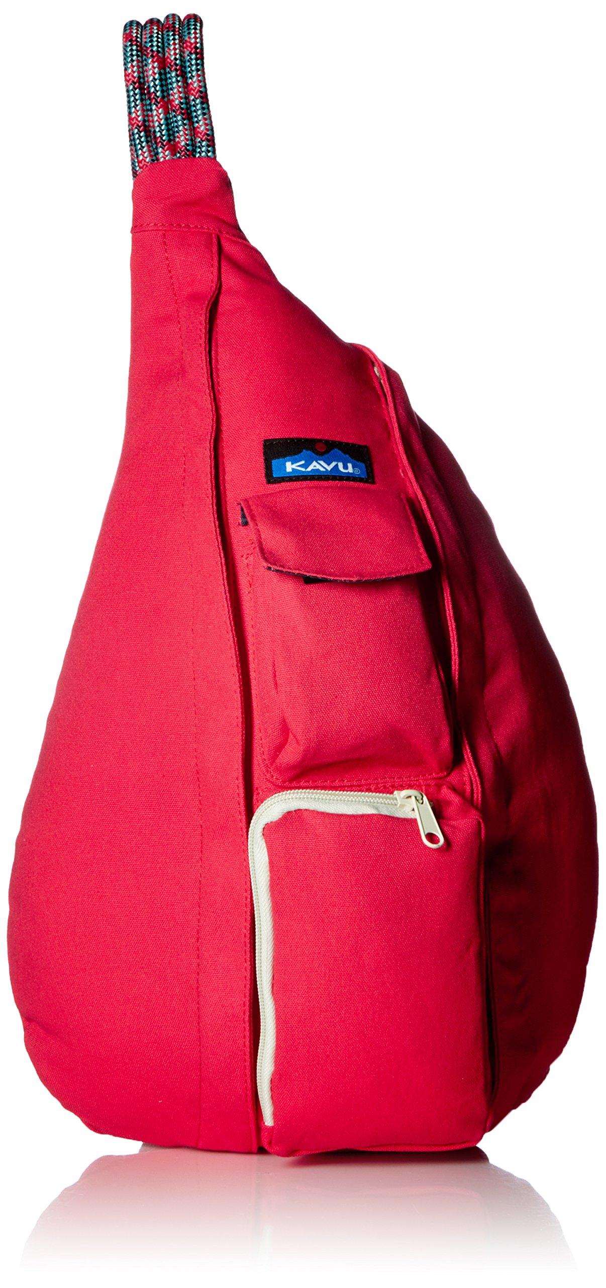 KAVU Rope Bag, Cardinal, One Size