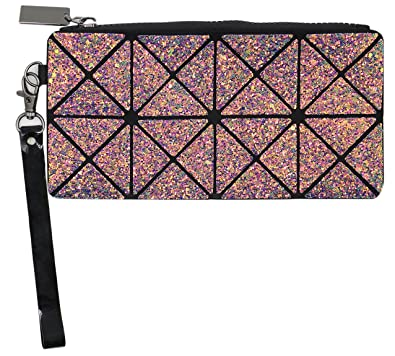 df54db57d80 Amazon.com: Women Geometric Smartphone Wristlet Bag Coin Purse ...