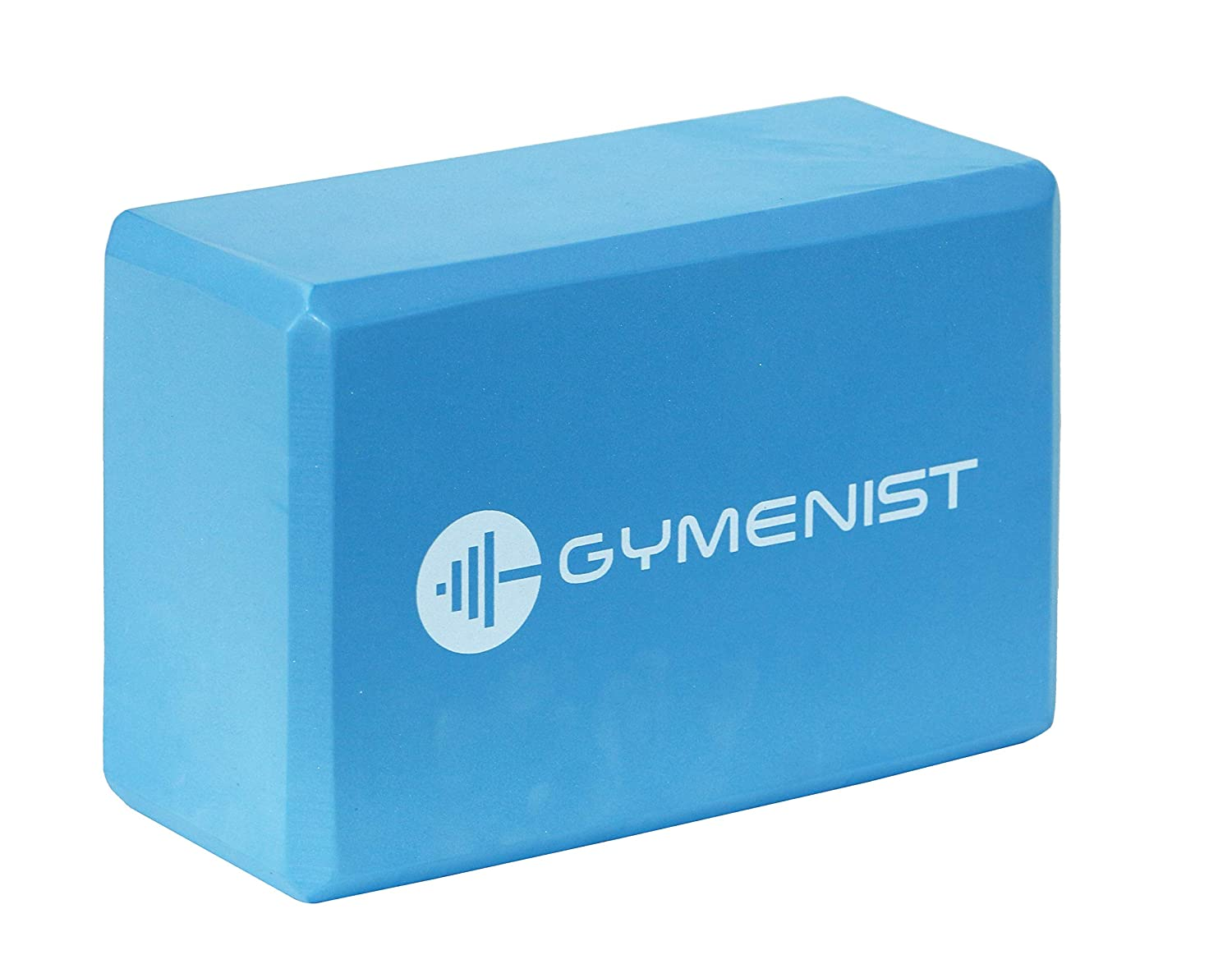GYMENIST Yoga Blocks High Density EVA Foam Block Provides Support and Deepen Poses Improves Strength,Balance and Flexibility Ideal for Workout Fitness /& Gym