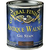 General Finishes AQ Gel Stain, 1 quart, Antique Walnut