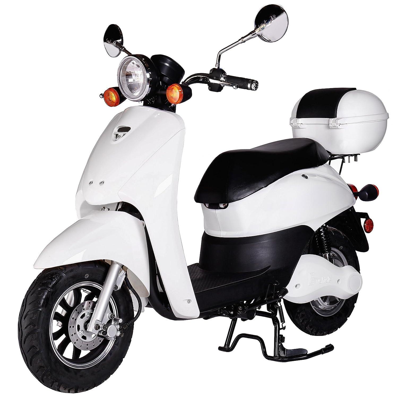 Rolektro Scooter elettrico Retro Light 40, con omologazione stradale EU, E-scooter con motore da 1.200W, autonomia 60km, velocità massima 40km/h. E-scooter con motore da 1.200W autonomia 60km velocità massima 40km/h. SP58D