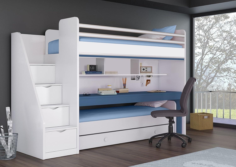 Etagenbett Jugend : Jugendzimmer mit hochbett raumideen für teenagers archzine