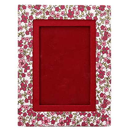 Buy Snnappo White Maroon Floral Designer Print Handmade Paper Photo ...