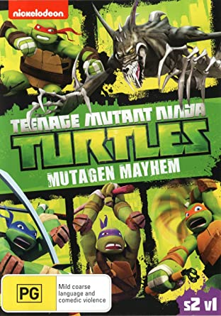 Teenage Mutant Ninja Turtles Mutagen Mayhem Season 2 Volume ...