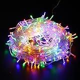 10m LED Fairy String Lichter batteriebetrieben, 80 LEDS Lichterkette Lichterkette innen und außen für Weihnachten / Hochzeit / Party IP44