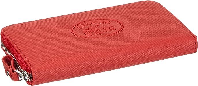 Lacoste Large Zip Wallet NF0379NC - Monedero para mujer, color rojo, talla 20x10x1 cm: Amazon.es: Zapatos y complementos