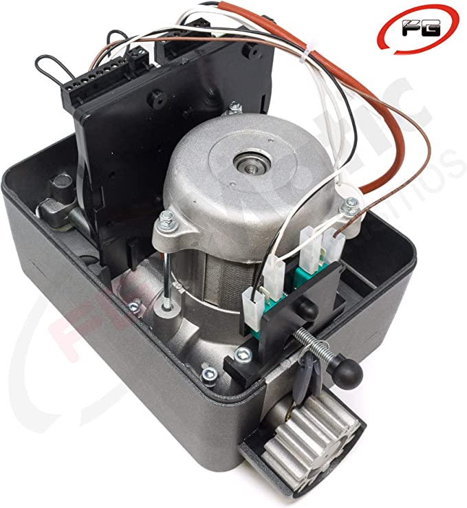 Kit para automatizar tu puerta de garaje corredera de modelo VDS GEKO 400 Kg, incluye motor, 2 mandos de código evolutivo, placa de control, 4 metros de cremallera, fotocelula y manuales.: Amazon.es: