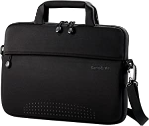 Samsonite Aramon Laptop Shuttle, Black, 13-Inch