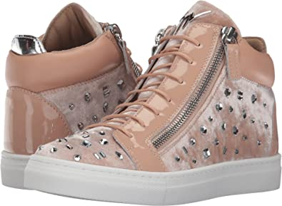 35fd32bf459e Giuseppe Zanotti Kids Baby Girl s Veronica Sneaker (Toddler Little Kid)  Powder 26 M