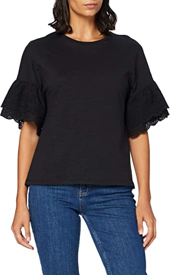 Only Onlnicole L//S Top Jrs T-Shirt Donna
