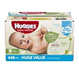 Amazon Price History for:Huggies Natural Care Baby Wipes, Refill, 648 ct, Fragrance Free, Hypoallergenic,  Aloe and Vitamin E