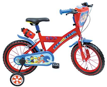 Amazon.com: Mondo Bike 16 Paw patrol-25307: Toys & Games