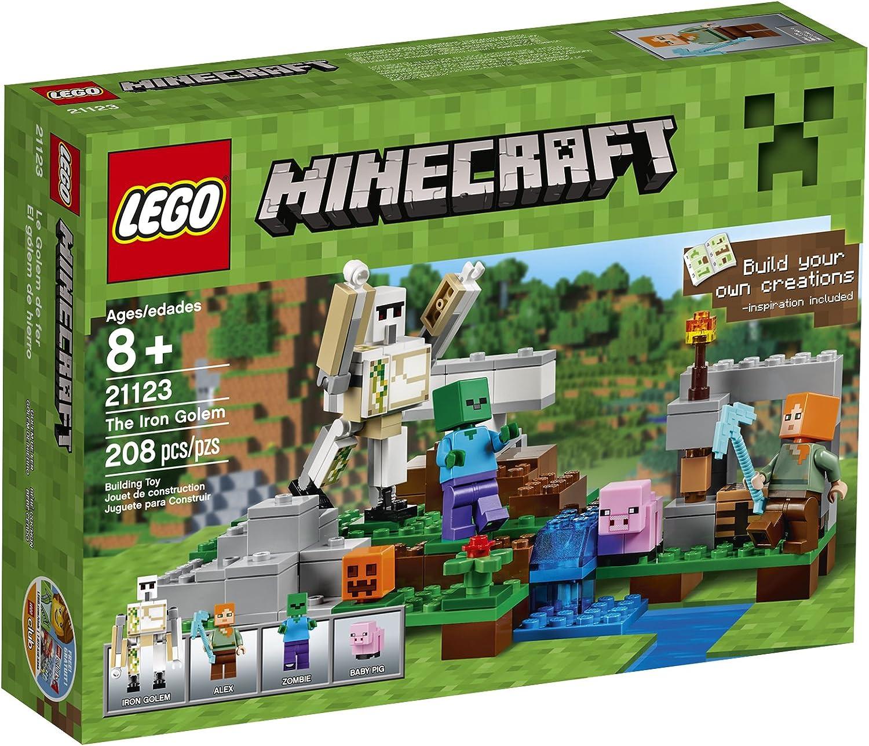LEGO Minecraft The Iron Golem 21123 by LEGO: Amazon.es: Juguetes y ...