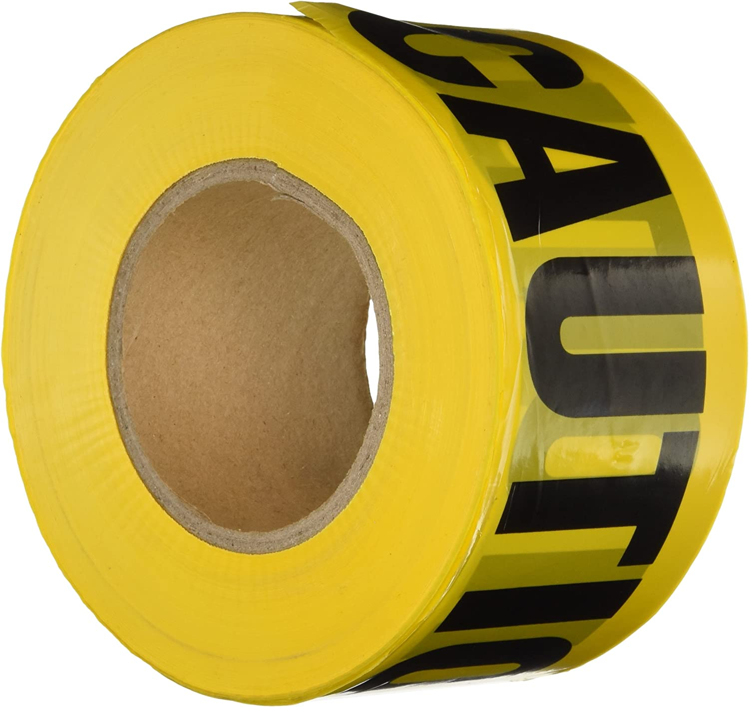 Yellow and Black Tape Works Keep Out Tape