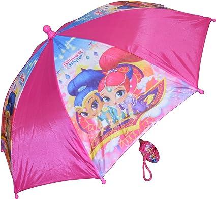 Amazon.com: Shimmer Shine Nickelodeon - Paraguas para niña ...