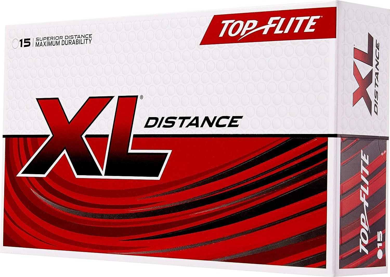 Top-Flite 2019 XL Distance Golf Balls 15 Pack