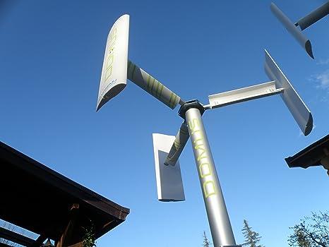 Generatore eolico domestico DOMUS 500 / 750 / 1000 W piccola mini ...
