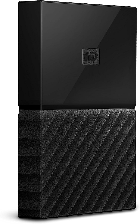 WD 1TB My Passport for Mac Portable External Hard Drive, USB-C/USB-A - WDBFKF0010BBK-WESE,Black