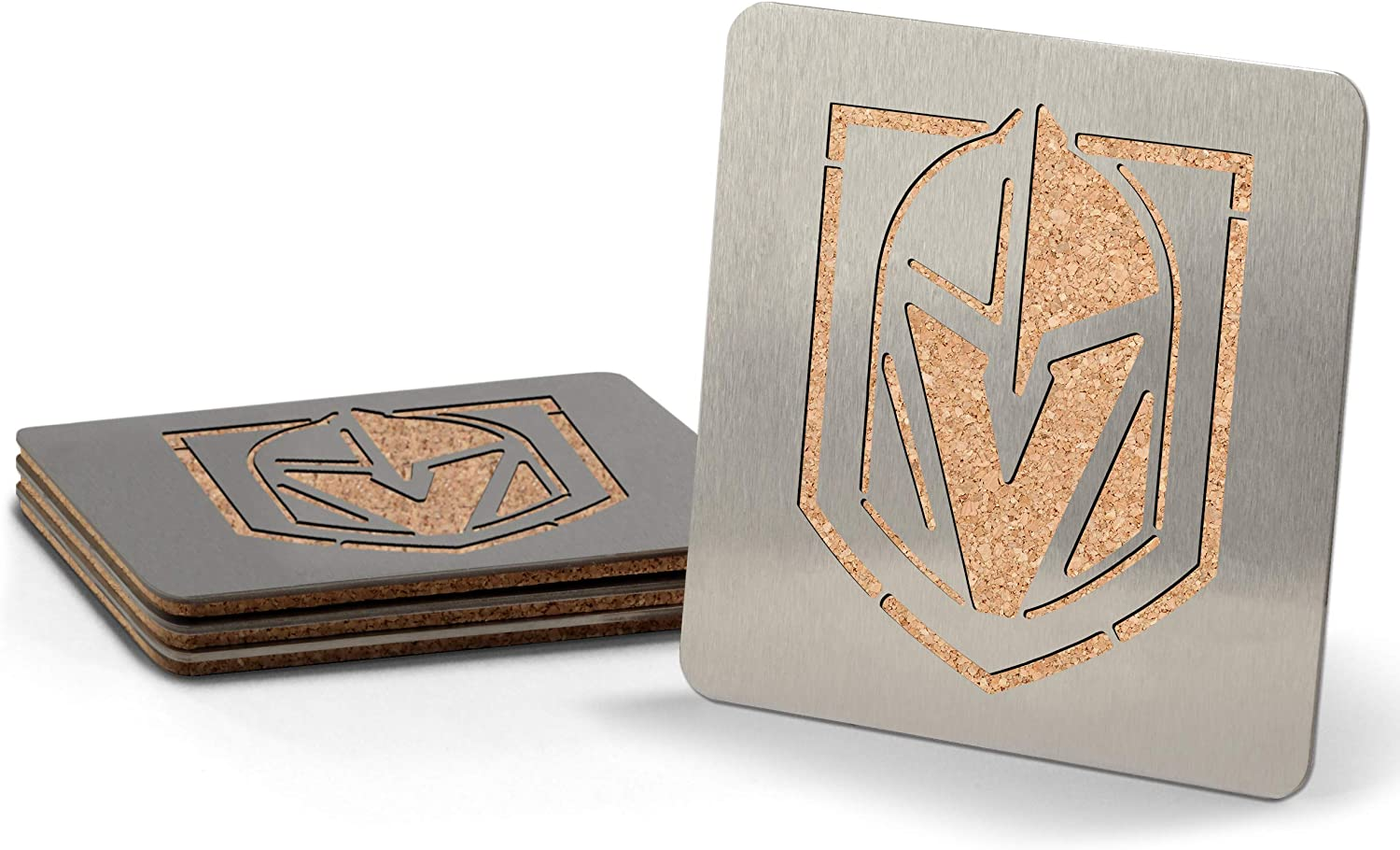 YouTheFan NHL Boasters Stainless Steel Drink Coasters
