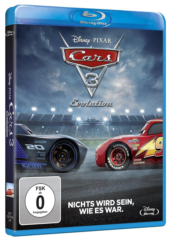 Cars 3: Evolution [Blu-ray]: Amazon.de: Manou Lubowski, Benedikt ...