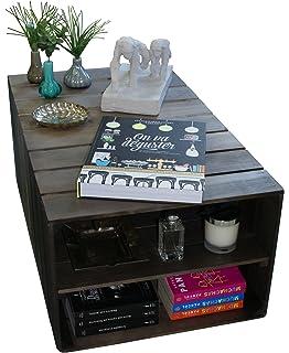 soges moderner kaffee-tisch 100*60cm mit doppelfächer für ... - Moderne Tische Fur Wohnzimmer