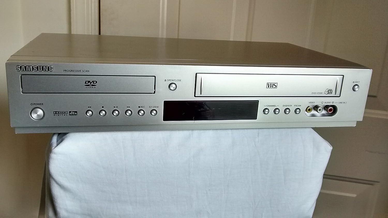 Amazon.com: Samsung DVD-V5500 DVD/VCR Video Cassette Recorder Combo ...