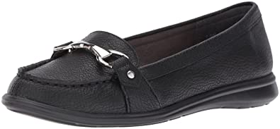 A2 by Aerosoles Women's Time Limit Slip-on Loafer, Black, ...