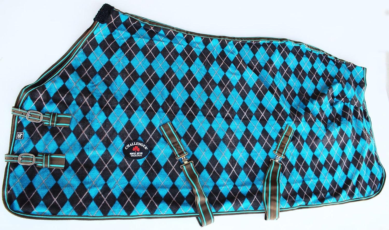 80 inches Challenger Horsewear 80  Horse Sheet Polar Fleece Cooler Exercise Blanket Wicks Moisture 4390