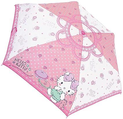 Sanrio Planificación de la J Hello Kitty paraguas plegable 53 cm girly sala 90234 de Japón