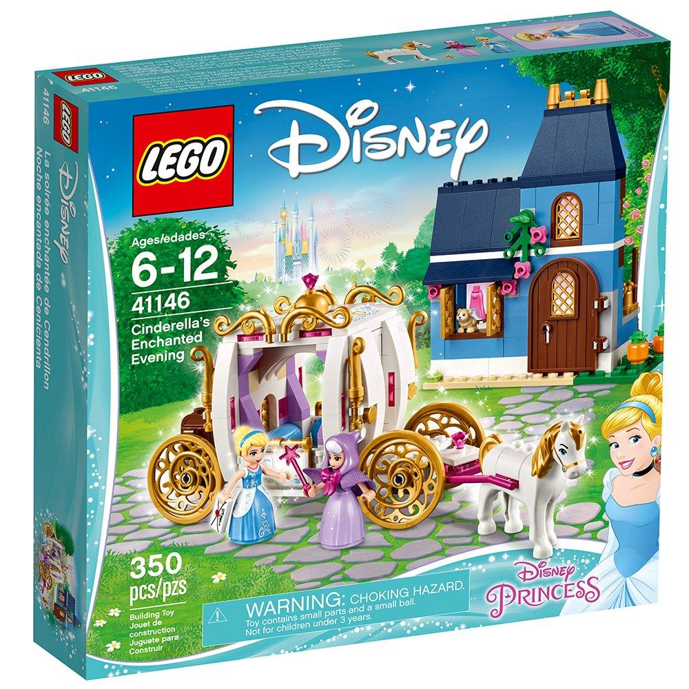 适合6-12岁女生,LEGO迪士尼公主之灰姑娘魔法之夜