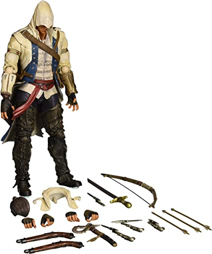 Amazon Com Square Enix Play Arts Kai Connor Kenway Assassin S