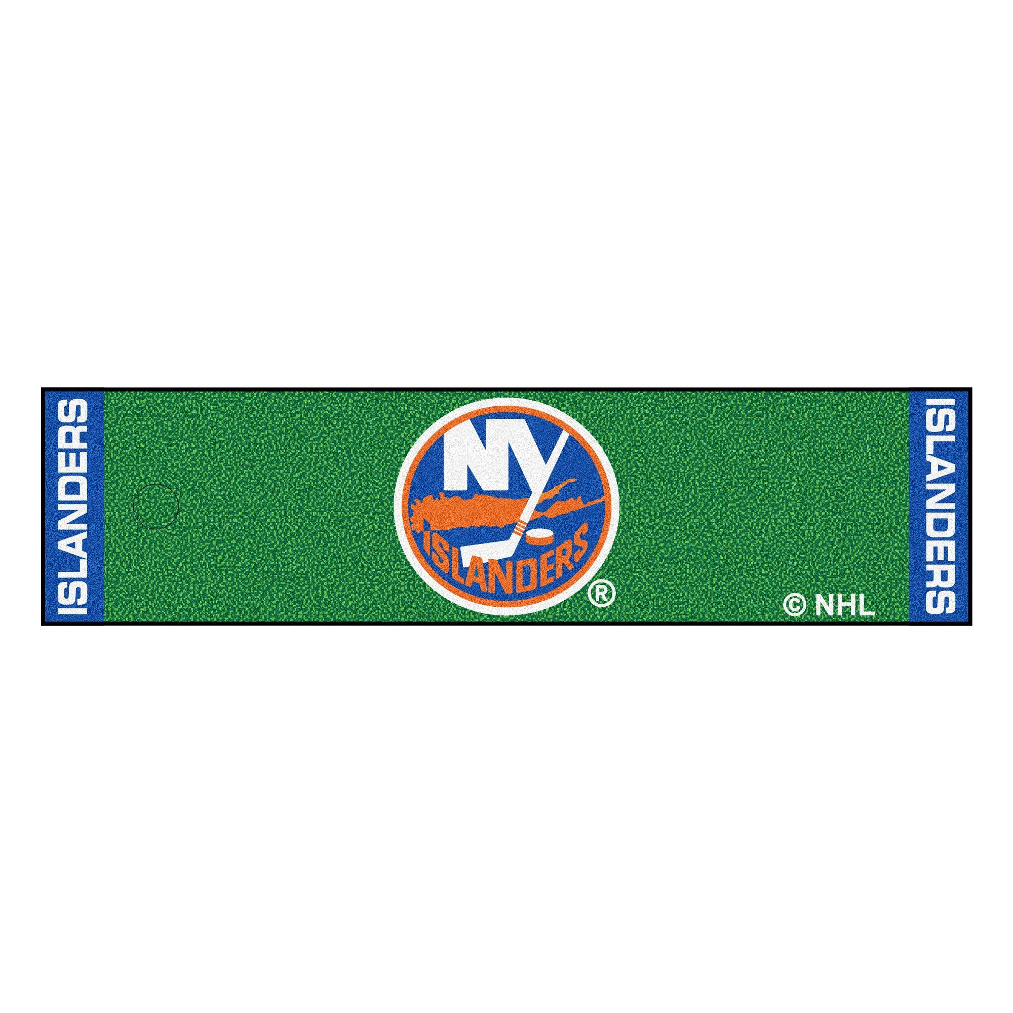 Fanmats NHL New York Islanders Nylon Face Putting Green Mat
