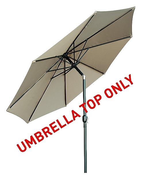 Good Ersatz Terrasse Regenschirm Top Für 10 U0027neigbar Oder LED Terrasse  Regenschirm Von Trademark Innovations (
