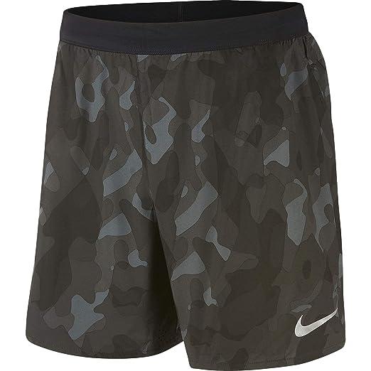 timeless design 1016a 67cc8 Nike Men s 7   Camo Distance Running Shorts (Black, ...