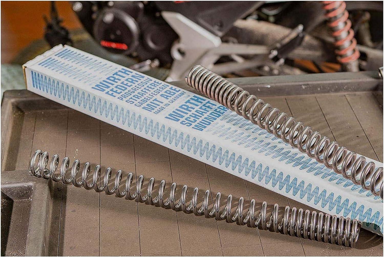 Gabelfedern mit Gabel/öl f/ür F 650 650 GS ohne Werkstieferlegung Baujahr 2000-2003 von Wirth Federn