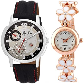 Analogue Multicolour Dial Watch Unisex Watch Combo of 2