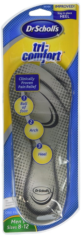 Amazon.com: Plantillas tri-comfort 37081 SCH Hombres: Health ...