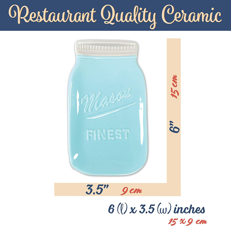 Mason Jar Spoon Rest or Soap Dish