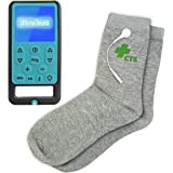 Ultima Neuro Neuropathy Feet System for Treatment & Relief of Peripheral, Diabetic & Poly Neuropathy Nerve Pain with Conductive Socks Pair