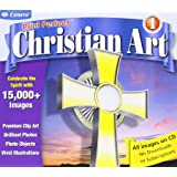 Amazon art explosion christian greeting card factory cosmi cdrs581 print perfect christian art m4hsunfo