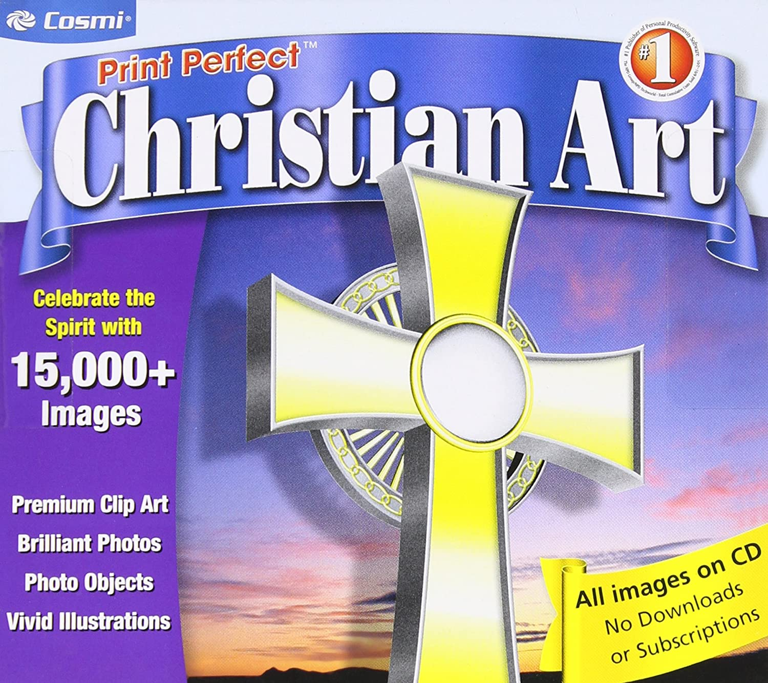 Printperfect Christian Clipart with 15,000+ Images: Amazon.ca ...