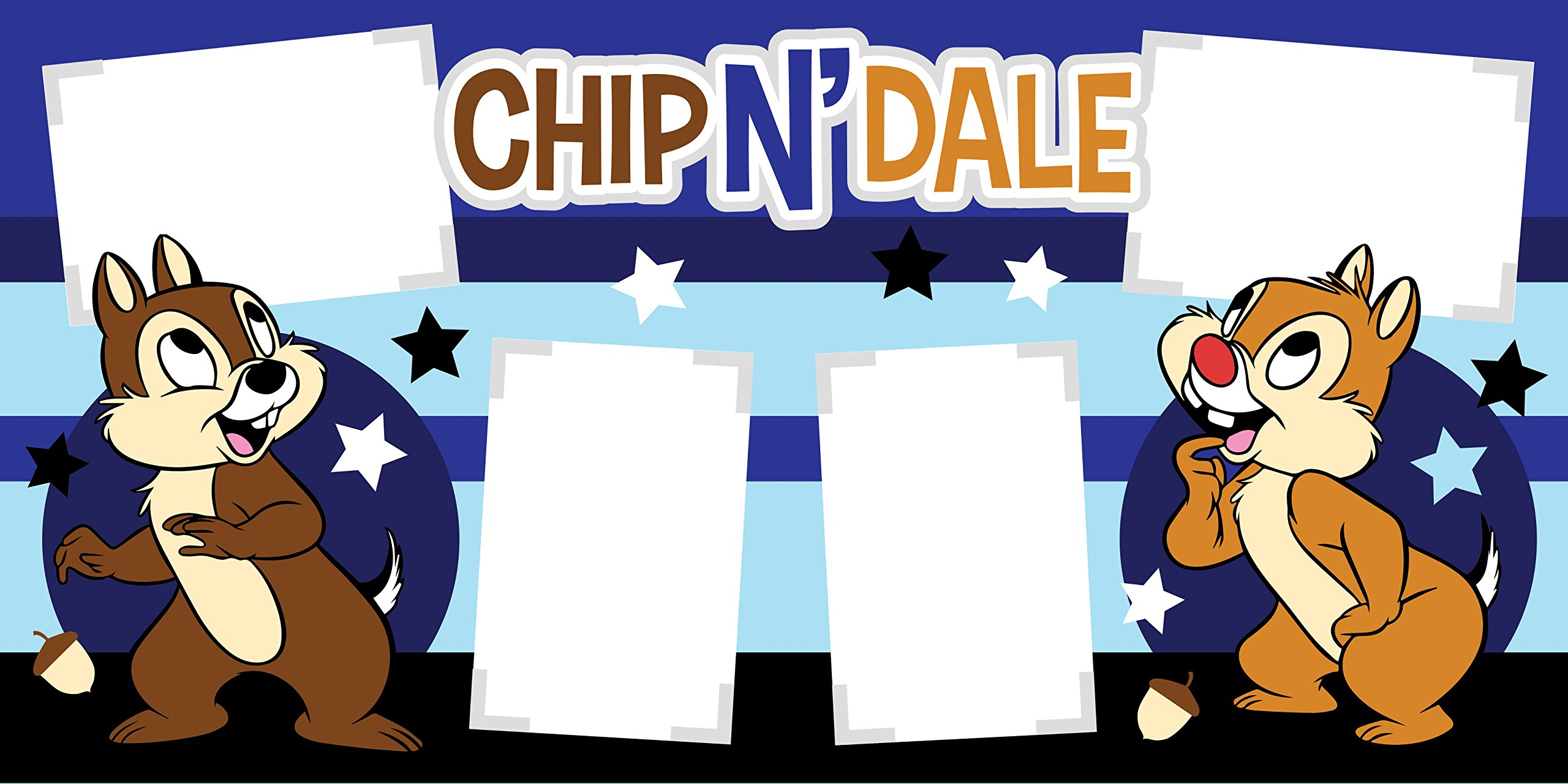 ''Chip 'N Dale'' Disney Scrapbook Page Kit